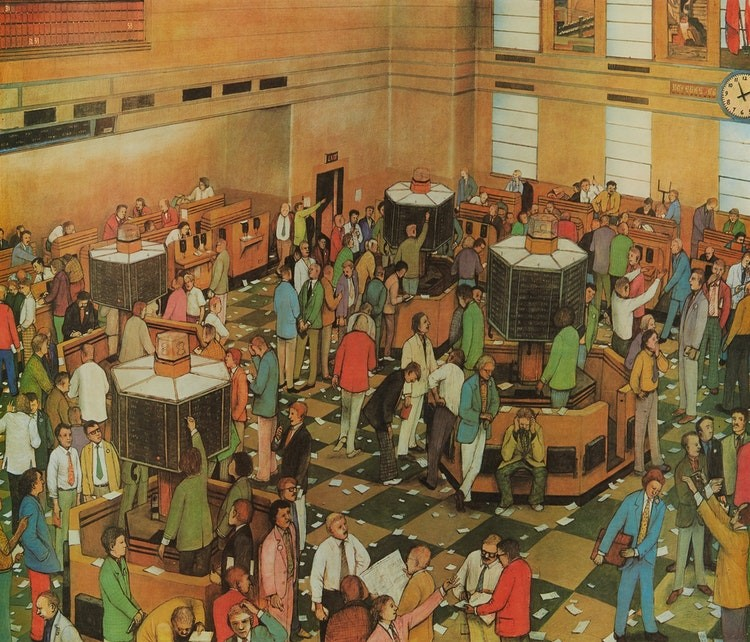 KURELEK, William. [Light Trading On TheToronto Stock Exchange].