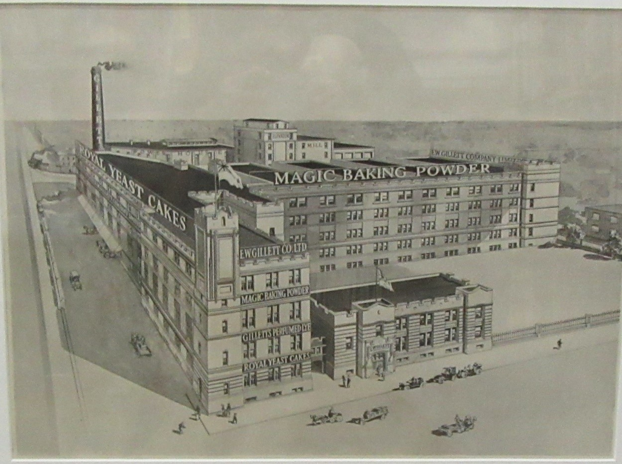 E.W.GILLESPIE LIMITED. Plant Of E.W.Gillespie Limited, Toronto, Ontario, Erected 1912.